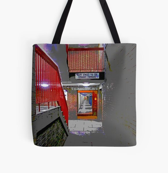 Lansdowne , Sheffield All Over Print Tote Bag