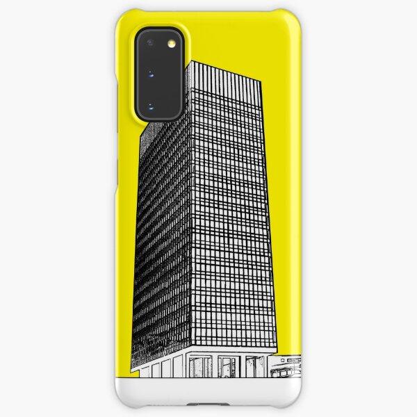 Sheffield university Arts tower- yellow Samsung Galaxy Snap Case