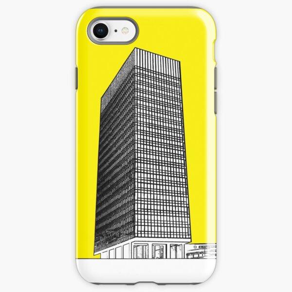 Sheffield university Arts tower- yellow iPhone Tough Case