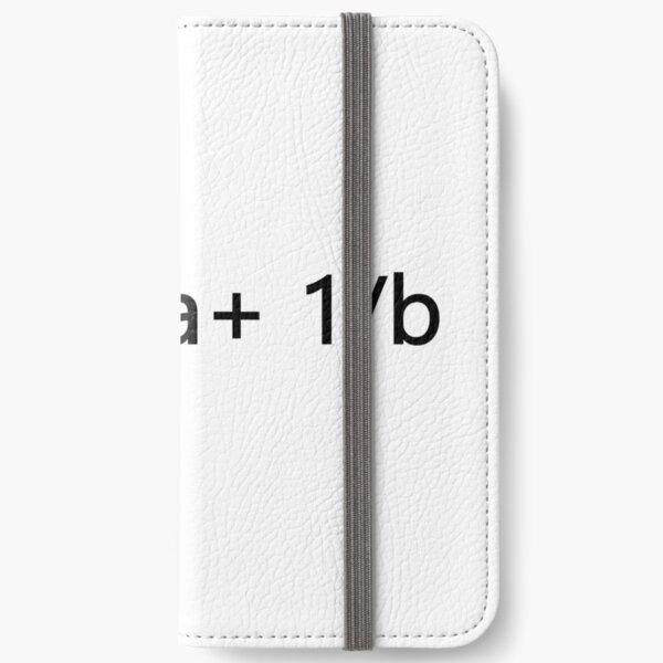 1/x=1/a+ 1/b iPhone Wallet