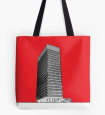 Sheffield University Arts tower - red Tote Bag
