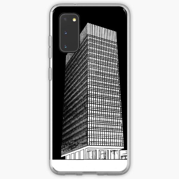 Sheffield University Arts Tower- Black Samsung Galaxy Soft Case