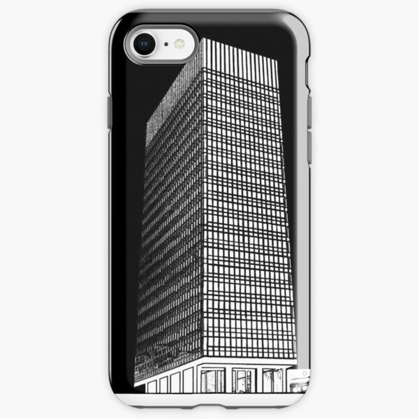 Sheffield University Arts Tower- Black iPhone Tough Case