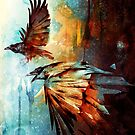 «Cuervos en vuelo» de barrettbiggers