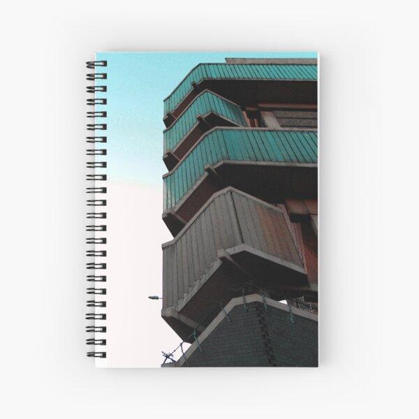 Walkways, Moore street, Sheffield Spiral Notebook