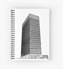 Sheffield University Arts Tower Spiral Notebook