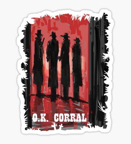 O.K. Corral Sticker