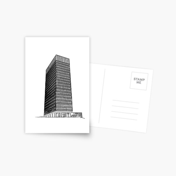 Sheffield University Arts Tower Postcard