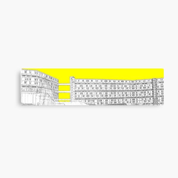 Park Hill - Yellow Canvas Print