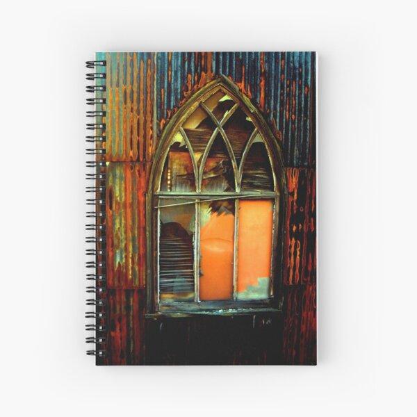 shanty church Spiral Notebook