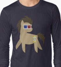 My Little Pony - Dr Hooves BBBFF (Song) Style (With 3D Glasses) Long Sleeve T-Shirt