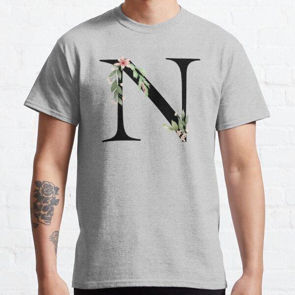 Botanical letter N Classic T-Shirt