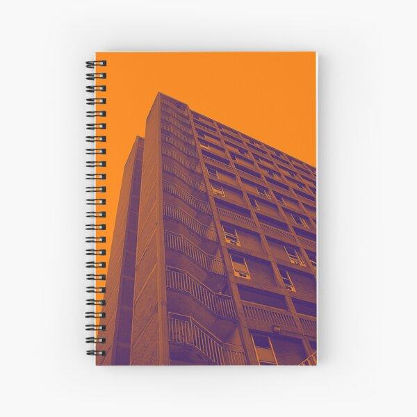 Parkhill popart (part 6 of 6) Spiral Notebook