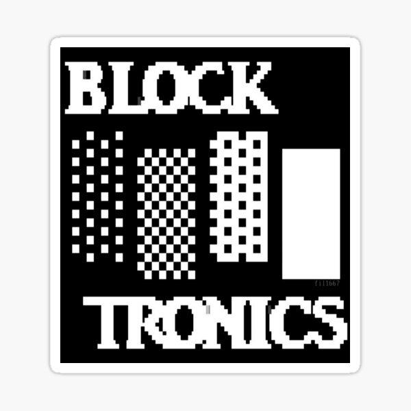 Blocktronics Promo Sticker