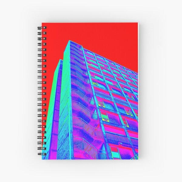Parkhill popart (part 4 of 6) Spiral Notebook