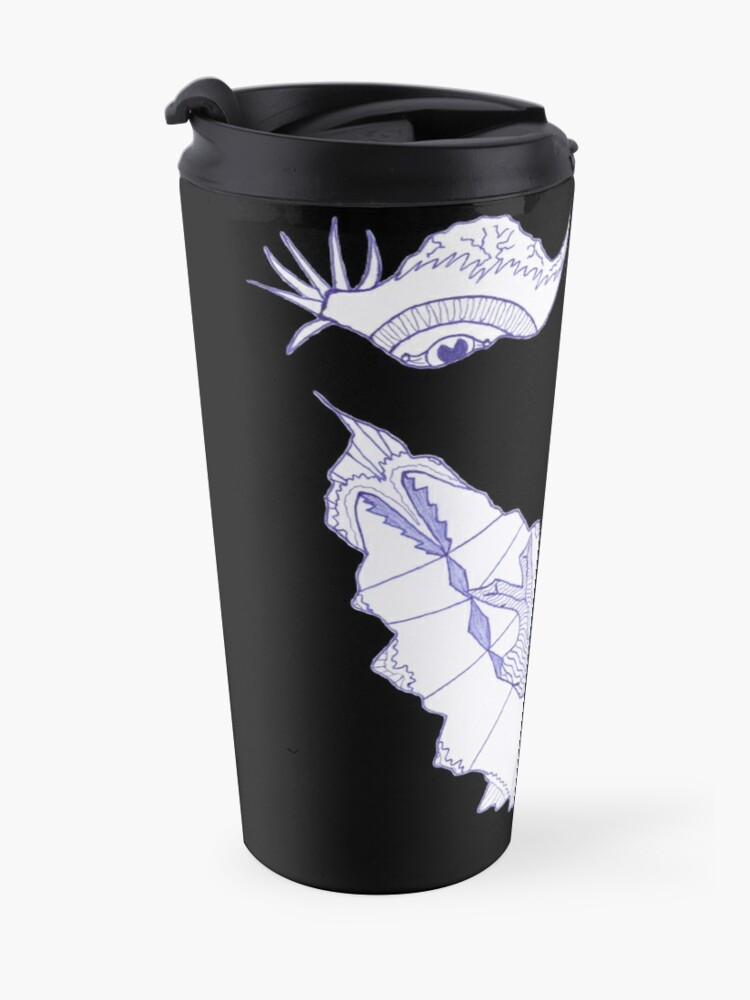 Alternate view of Merch #39 -- Crooked Smile Travel Mug