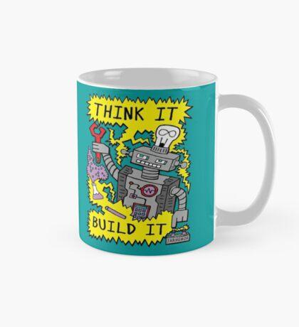 Think Build Robot Taza