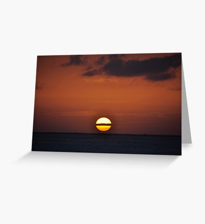 Atardecer Greeting Card