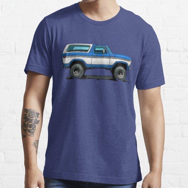 Bronco 2 - Blue White Essential T-Shirt