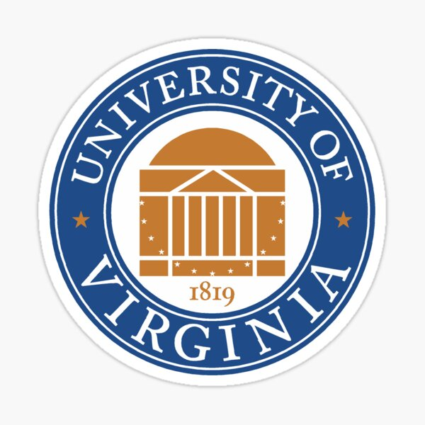 University of Virginia Seal Sticker