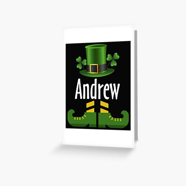 Andrew Greeting Card