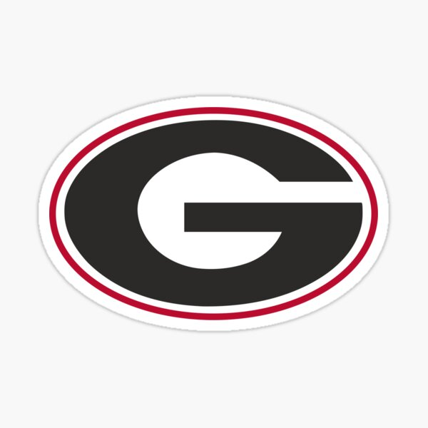 UGA Bulldogs Logo Sticker