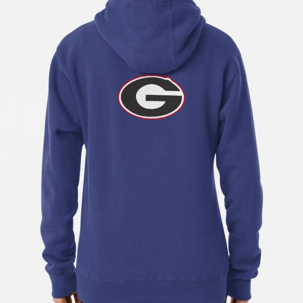 UGA Bulldogs Logo Pullover Hoodie