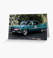 Cadillac, Series 62 Sedan from 1959 Greeting Card