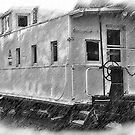 The Caboose by KirtTisdale
