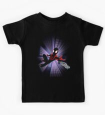 Miles Morales Spider-Verse Kids T-Shirt