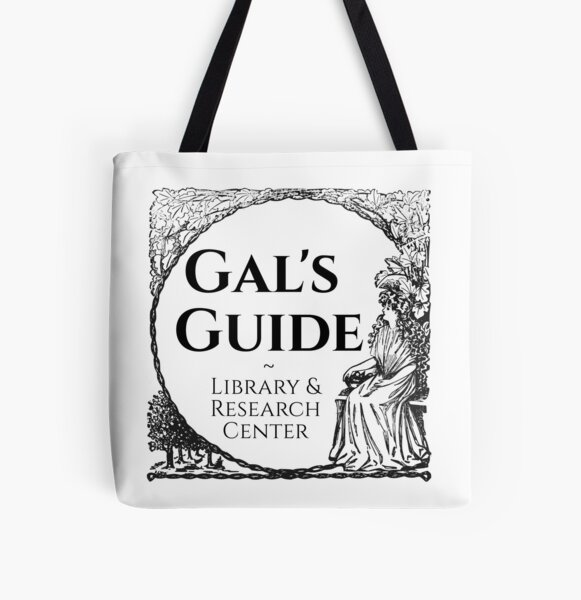 Gal's Guide Women's History Library and Research Center All Over Print Tote Bag