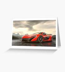 McLaren P1 Greeting Card