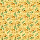 Gelber Aquarell-Hibiskus von bellamells