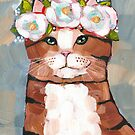 Portrait of a Brown Tabby by Ryan Conners