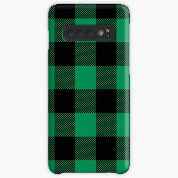 Lumberjack - Kelly/Black Samsung Galaxy Snap Case