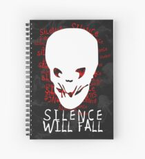 Silence Will Fall Spiral Notebook