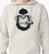 Cigar Monkey Pullover Hoodie