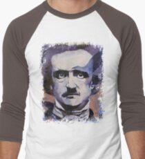 Edgar Allan Poe Men's Baseball ¾ T-Shirt