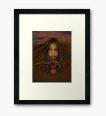 Heart of the Earth Framed Print