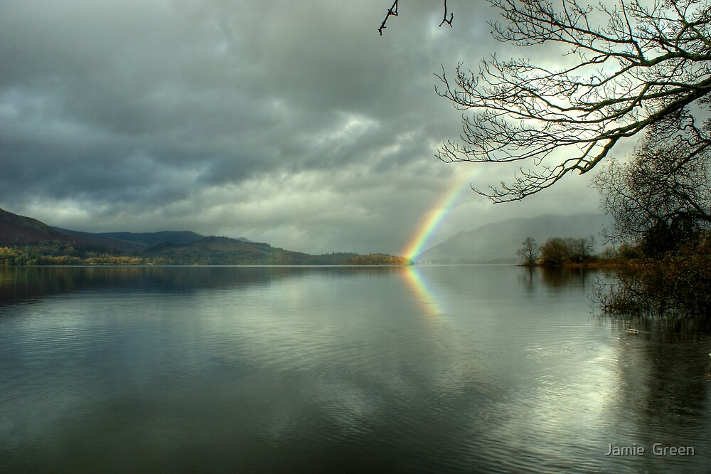 Light on Derwentwater by Jamie  Green