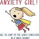 Anxiety GIRL  by mavisshelton