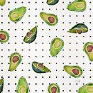 Avocado-Tupfen von Cat Coquillette