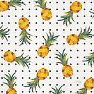 Ananas-Tupfen von Cat Coquillette