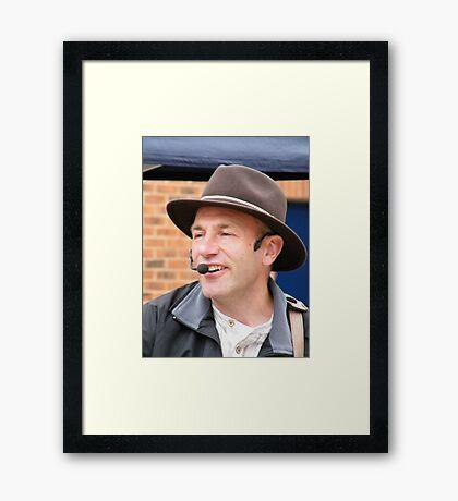 Country Singer Framed Print