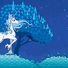The Last Unicorn - Calm Night by Cosmopoliturtle