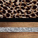 Silver, Black and Tan Leopard Design by infinitetango