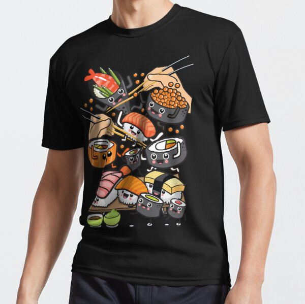 Sushi Party! Active T-Shirt
