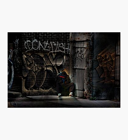 Streets of Detroit Photographic Print