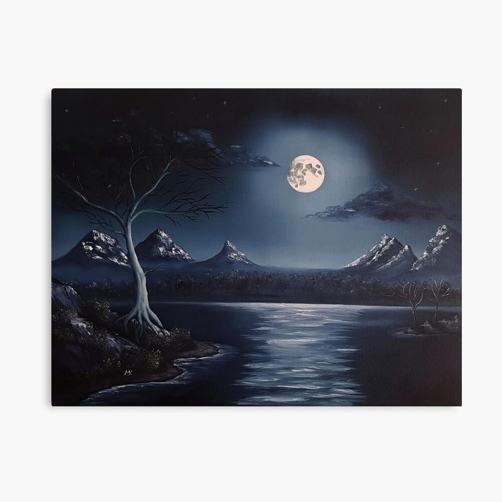 Blue October Canvas Print