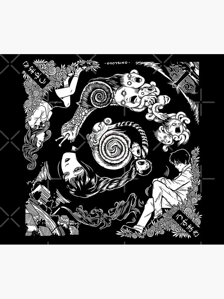 Spiral Into Horror - Uzumaki by Onislogo